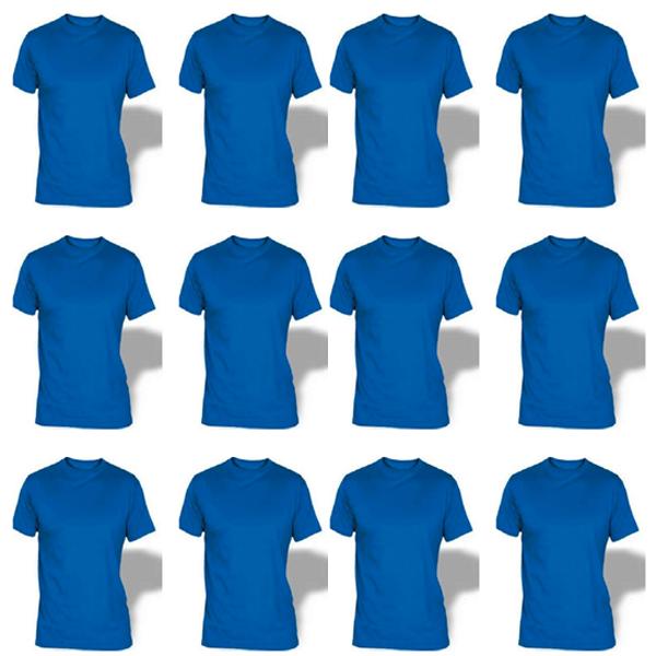 Camiseta cuello redondo al por mayor y detal