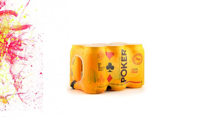 Cerveza Poker en lata x 355ml