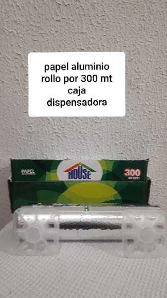 papel aluminio