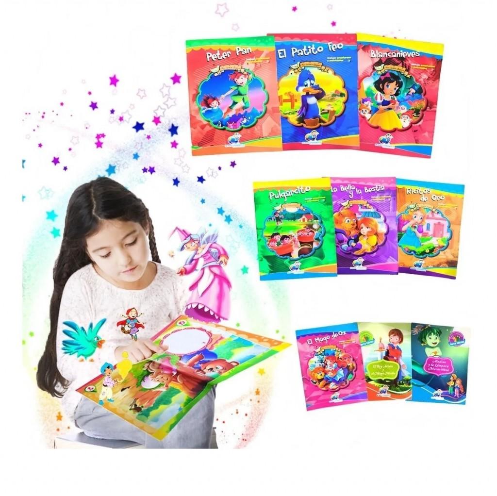 Libros Infantiles Cuentos Guardería Escolar X24 Didácticos