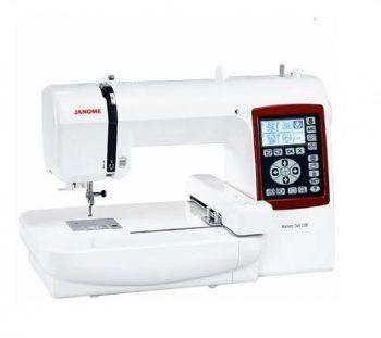 Maquina de coser bordadora janome mc230e original japonesa