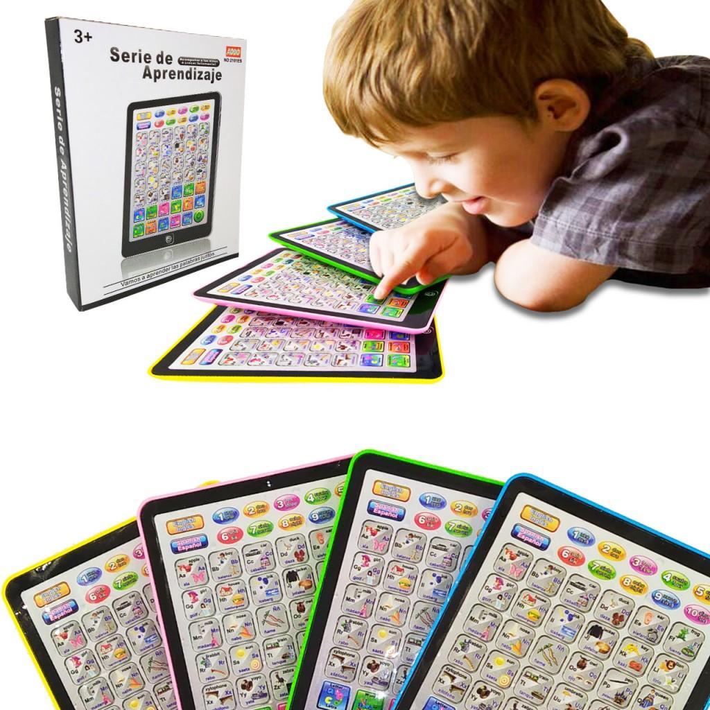 TTableta Niños Tablet Juguete Didactico Jugueteria Infantil