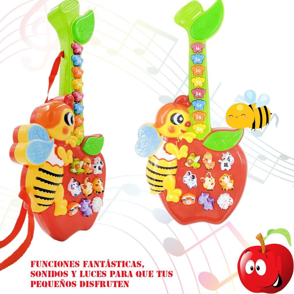 Guitarra Niños Bebé Manzana Juguete Música Didáctico Aprende