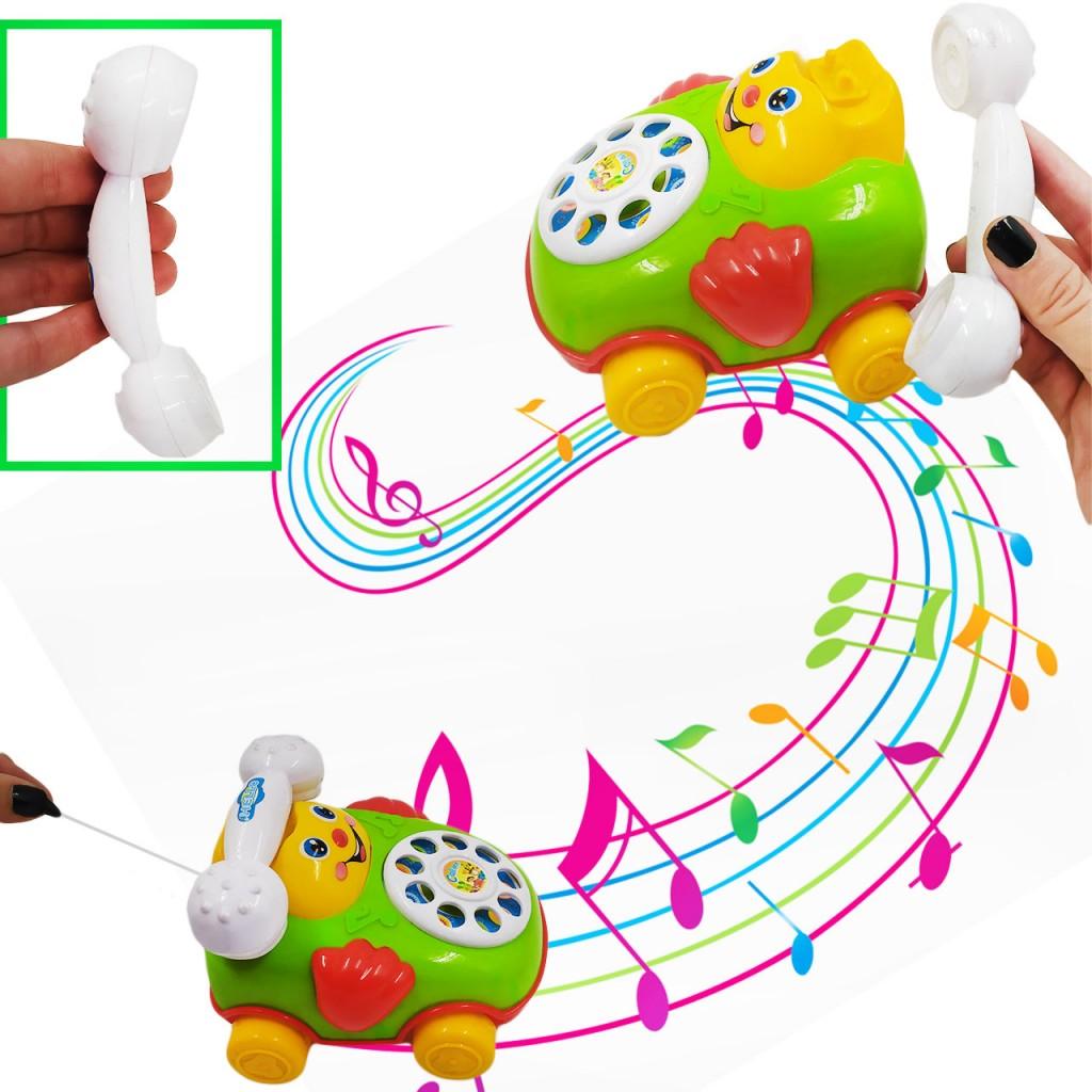 Teléfono Para Bebes Jugueteria Juegos Juguete Didactico