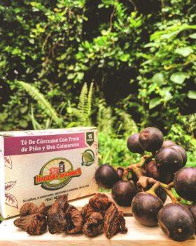 Té de uva caimarona, piña y cúrcuma