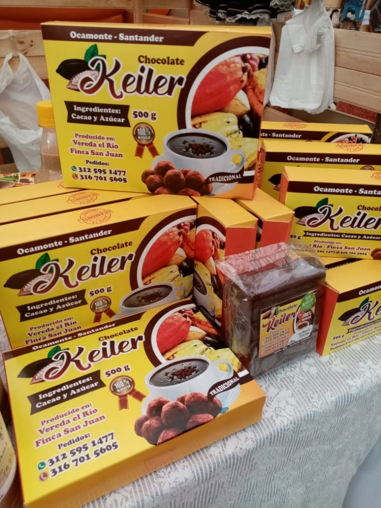 Chocolate Keiler  artesanal de mesa
