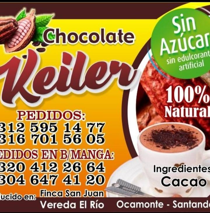 Chocolate Keiler sin azúcar